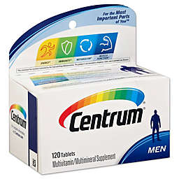 Centrum® Ultra 120-Count Multivitamin and Multimineral Supplement Tablets for Men