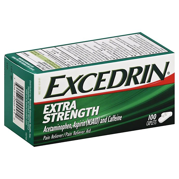 Alternate image 1 for Excedrin® Extra Strength 100-Count Caplets