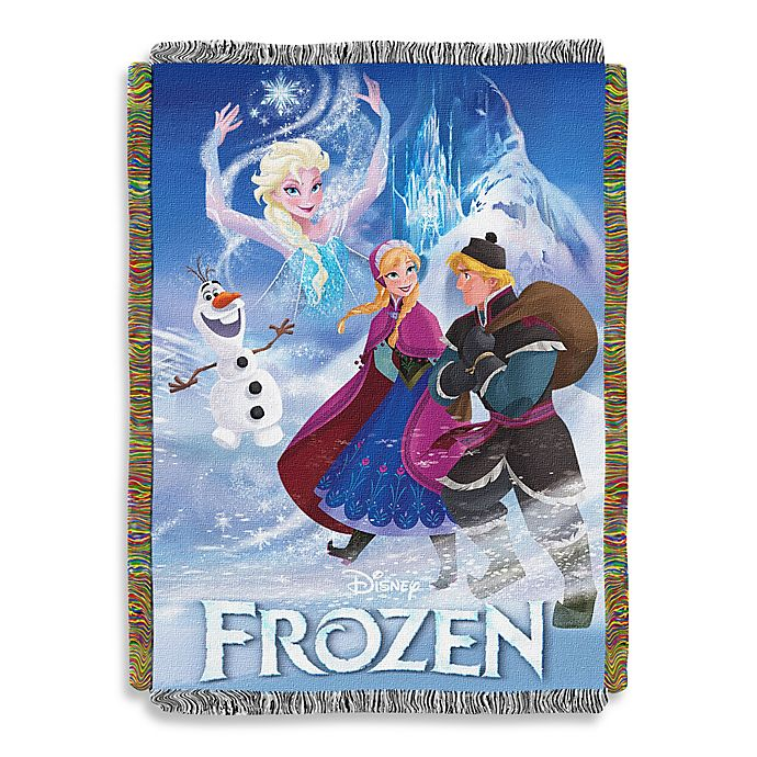 Alternate image 1 for Disney® Frozen Storybook Tapestry Throw