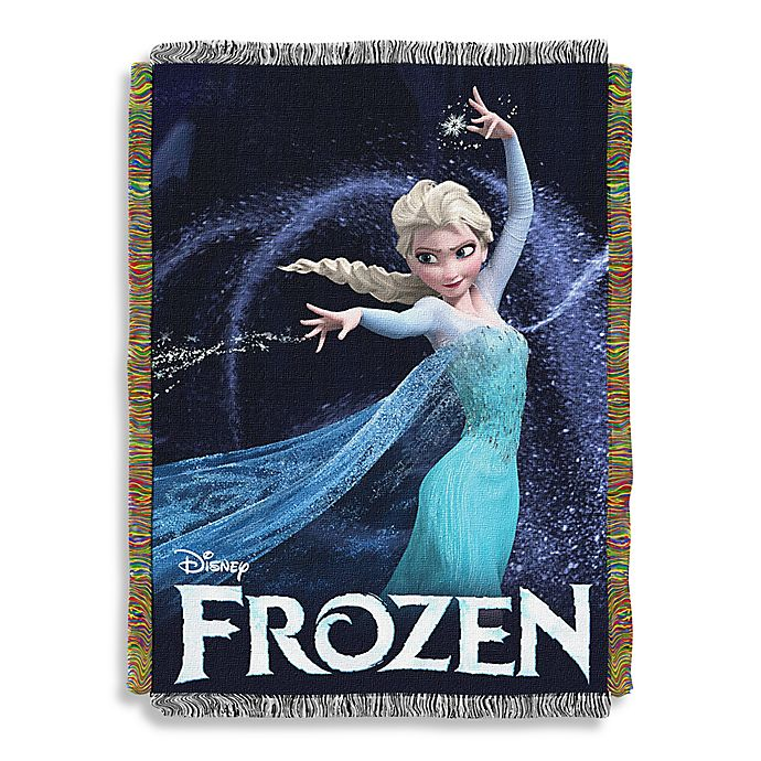 Alternate image 1 for Disney® Frozen Queen of Ice Tapestry Throw