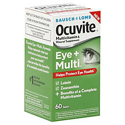 Bausch + Lomb Ocuvite 60-Count Multi-Vitamin Tablets
