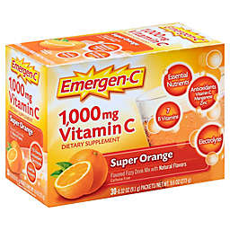 Emergen-C® 30-Count 1000 mg Vitamin C Fizzy Drink Mix Packets in Super Orange