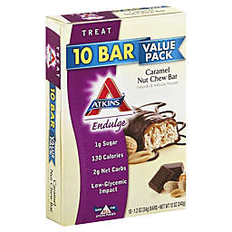 Atkins™ Endulge Caramel Nut Chew Bar 10-Count Value Pack Snack Bars