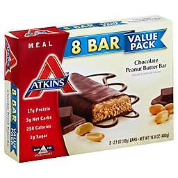 Atkins Advantage 8-Pack Chocolate Peanut Butter Bar