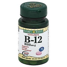 Nature's Bounty 100-Count Vitamin B-12 1000 mcg Tablets