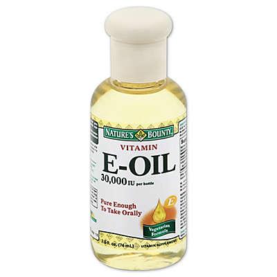 Nature's Bounty 2.5 Ounce Natural Vitamin E-Oil 30,000 IU