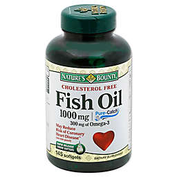 Nature's Bounty 120-Count 1000 mg Fish Oil Rapid Release Softgels