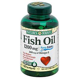 Nature's Bounty 100-Count 1200 mg Fish Oil Rapid Release Liquid Softgels