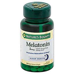 Nature's Bounty 60-Count Super Strength Melatonin 5 mg Softgels