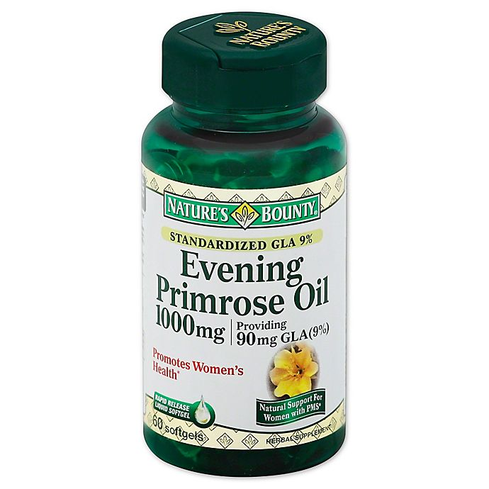 Alternate image 1 for Nature's Bounty 60-Count Evening Primrose Oil 1000 mg Softgels