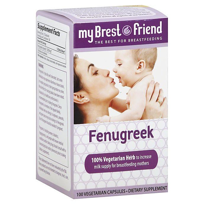 My Brest Friend Fenugreek Breast Feeding Dietary Supplements