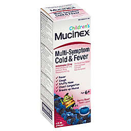 Mucinex® Children's 4 fl. oz. Multi-Symptom Cold & Fever Liquid in Berry