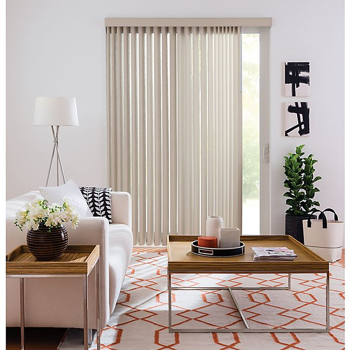 Bed Bath Beyond Blinds.Real Simple Vertical 84 Inch Blind Bed Bath Beyond