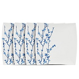 Maxwell & Williams™ Oriental Blossom Square Salad Plates (Set of 4)