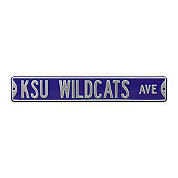 Kansas State University Steel Street Sign