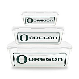 University of Oregon Glass Food Container 6-Piece Set