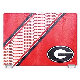 University of Georgia Tempered Glass Cutting Board