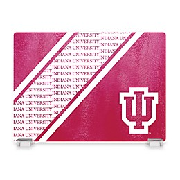 Indiana University Tempered Glass Cutting Board