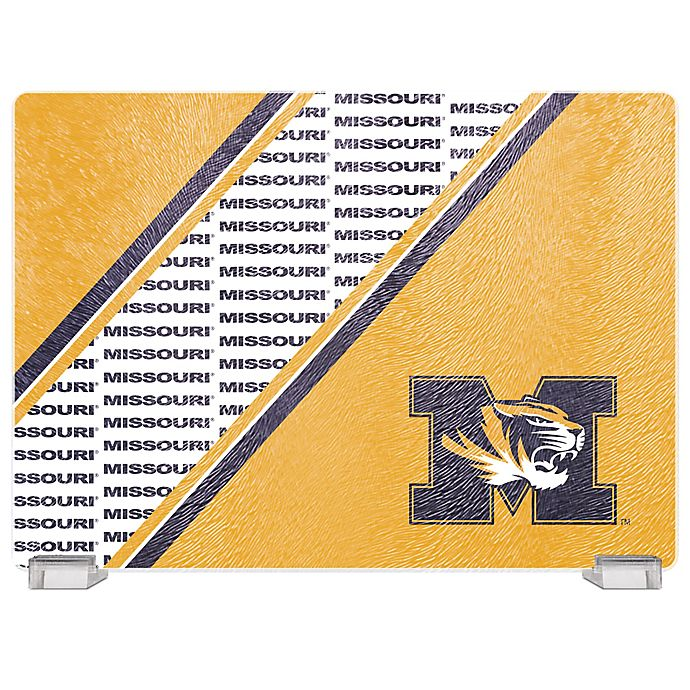 Alternate image 1 for University of Missouri Tempered Glass Cutting Board