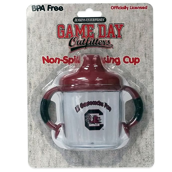 Alternate image 1 for University of South Carolina 8 oz. Infant No-Spill Sippy Cup