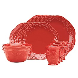 Lenox® French Perle 16-Piece Dinnerware Set in Cherry