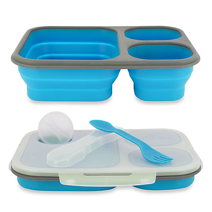 Alternate image 1 for SmartPlanet Large Collapsible Eco Lunch Kit