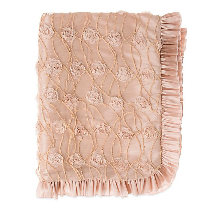 Alternate image 1 for Glenna Jean Paris Throw in Pink/Taupe