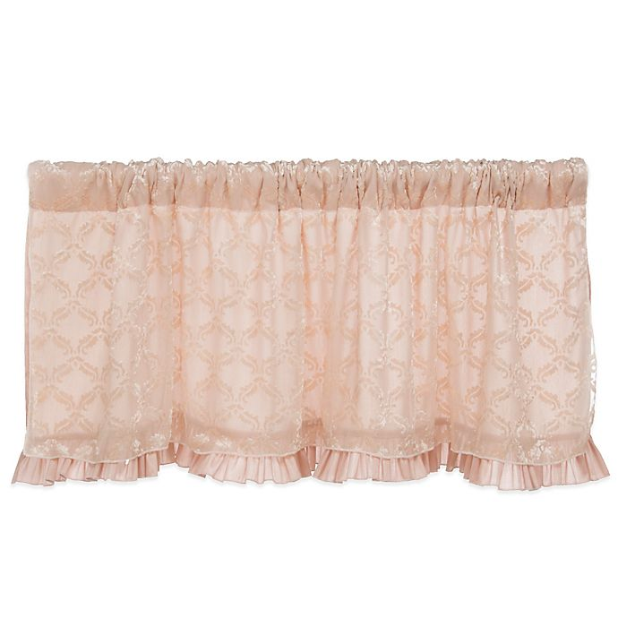 Alternate image 1 for Glenna Jean Paris Window Valance in Pink