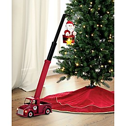 Mr. Christmas® 16.5-Inch Cherry Picker Santa in Red