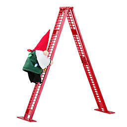 17-Inch Gnome Climber in Red