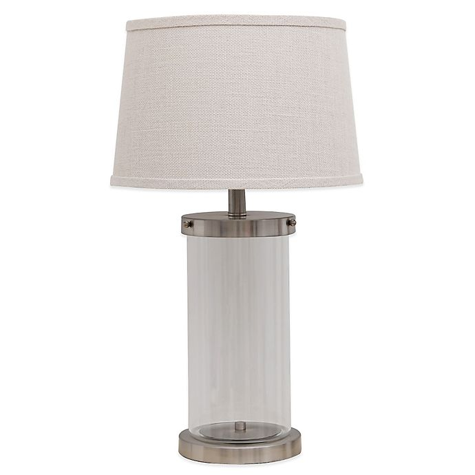 Fillable Glass Table Lamp | Bed Bath and Beyond Canada