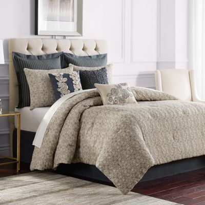Sonoma Comforter Set In Grey Bed Bath And Beyond Canada