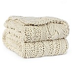 Berkshire Fisherman Hand-Knit Cable Throw