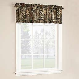 Mossy Oak Break Up Infinity Window Curtain Tier Pairs