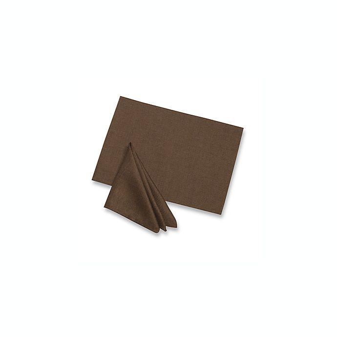 Alternate image 1 for Basketweave Placemat in Bark