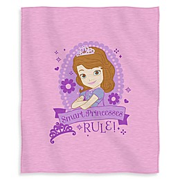 Disney® Sofia Princess in Training Sweatshirt Throw