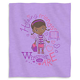 Doc McStuffins Love Sweatshirt Throw