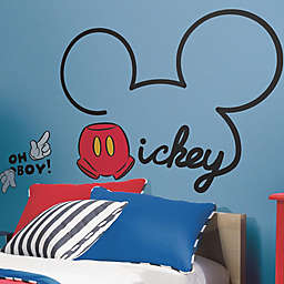 RoomMates All About Mickey Peel and Stick Giant Wall Decals