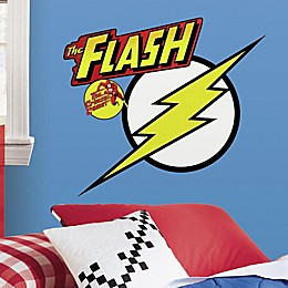 RoomMates Flash Logo Peel and Stick Giant Wall Decals