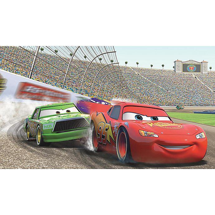 Alternate image 1 for Disney® Cars Lightning McQueen Prepasted 10.5-Foot x 6-Foot Mural