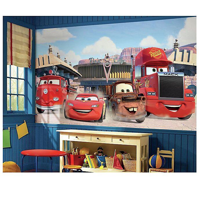 Alternate image 1 for Disney® Cars Chair Rail Prepasted 10.5-Foot x 6-Foot Mural