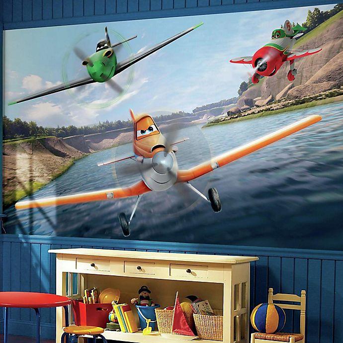 Alternate image 1 for Disney® Planes Chair Rail Prepasted 10.5-Foot x 6-Foot Mural