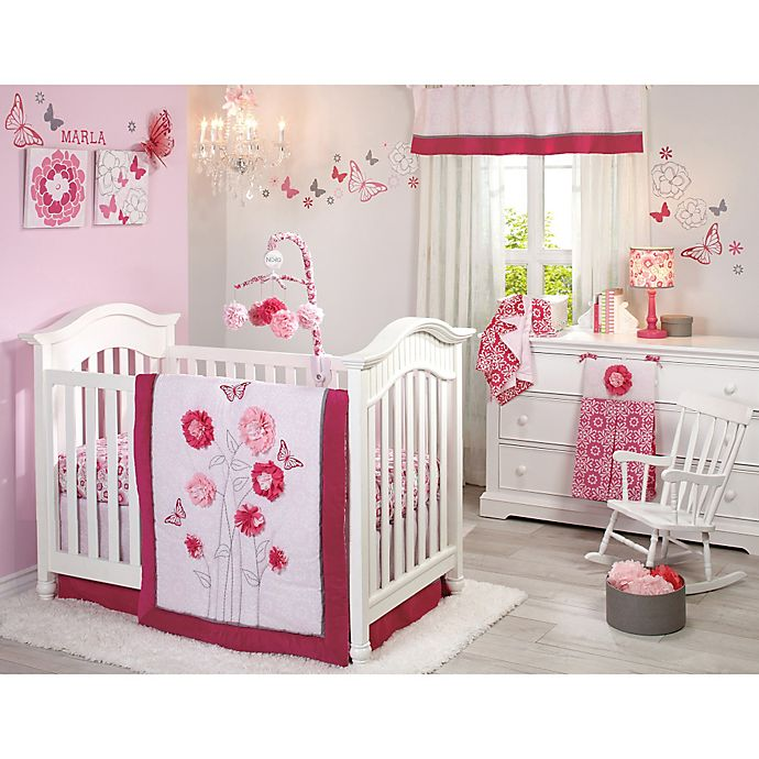 Nojo Erfly Bouquet Crib Bedding Collection Bed Bath