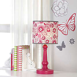 Nojo Erfly Bouquet Table Lamp And Shade