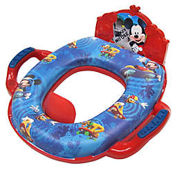 Ginsey Disney® Mickey Mouse Deluxe Soft Potty Trainer with Sound in Blue/Red