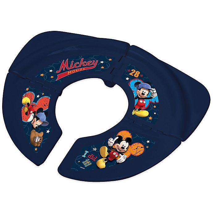 Alternate image 1 for Disney® Mickey Folding Travel Potty Seat with Storage Bag