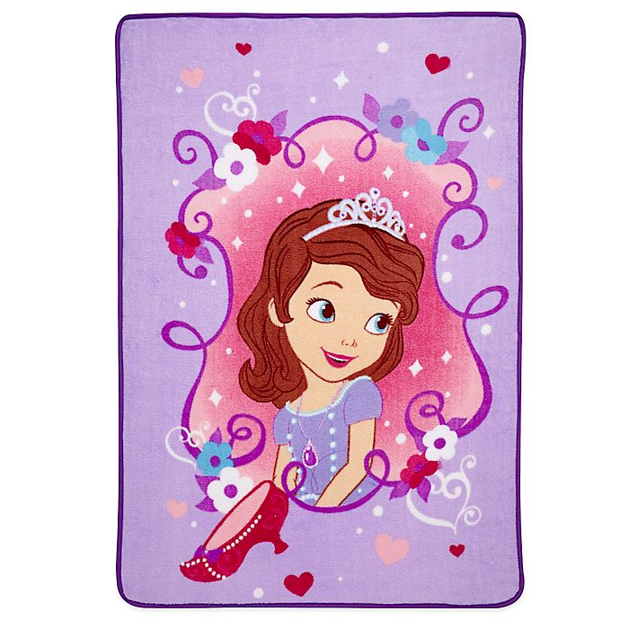 Alternate image 1 for Sofia The First Coral Fleece Blanket