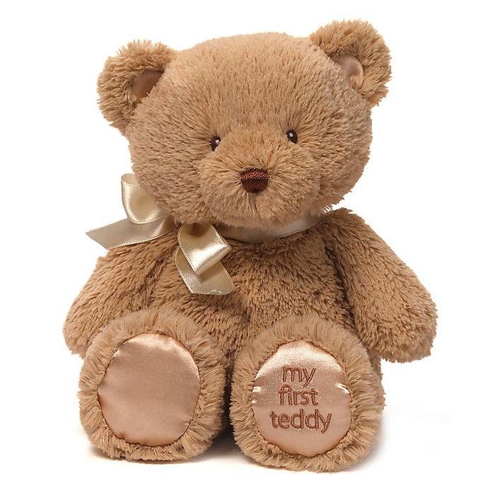 Alternate image 1 for GUND® My First Teddy Plush