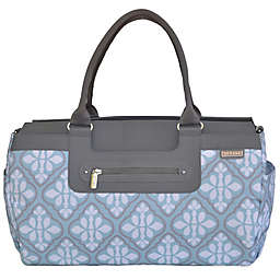 JJ Cole® Parker Weekender Diaper Bag in Blue Iris