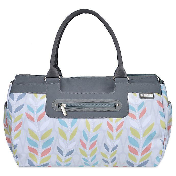 Alternate image 1 for JJ Cole® Parker Weekender Diaper Bag in Citrus Breeze